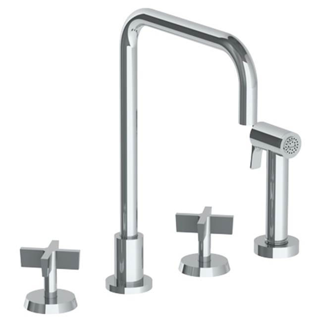 Watermark Deck Mount Kitchen Faucets item 37-7.1-BL3-PVD
