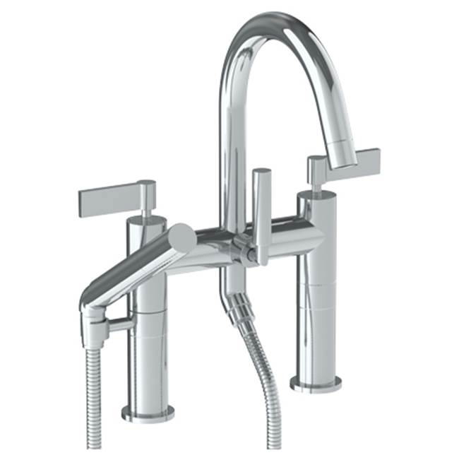 Watermark Deck Mount Roman Tub Faucets With Hand Showers item 37-8.2-BL2-PC