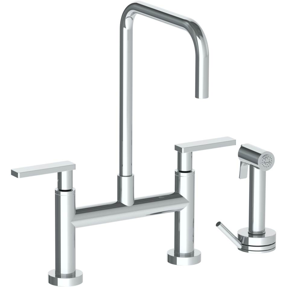 Watermark Bridge Kitchen Faucets item 70-7.65-RNS4-PCO