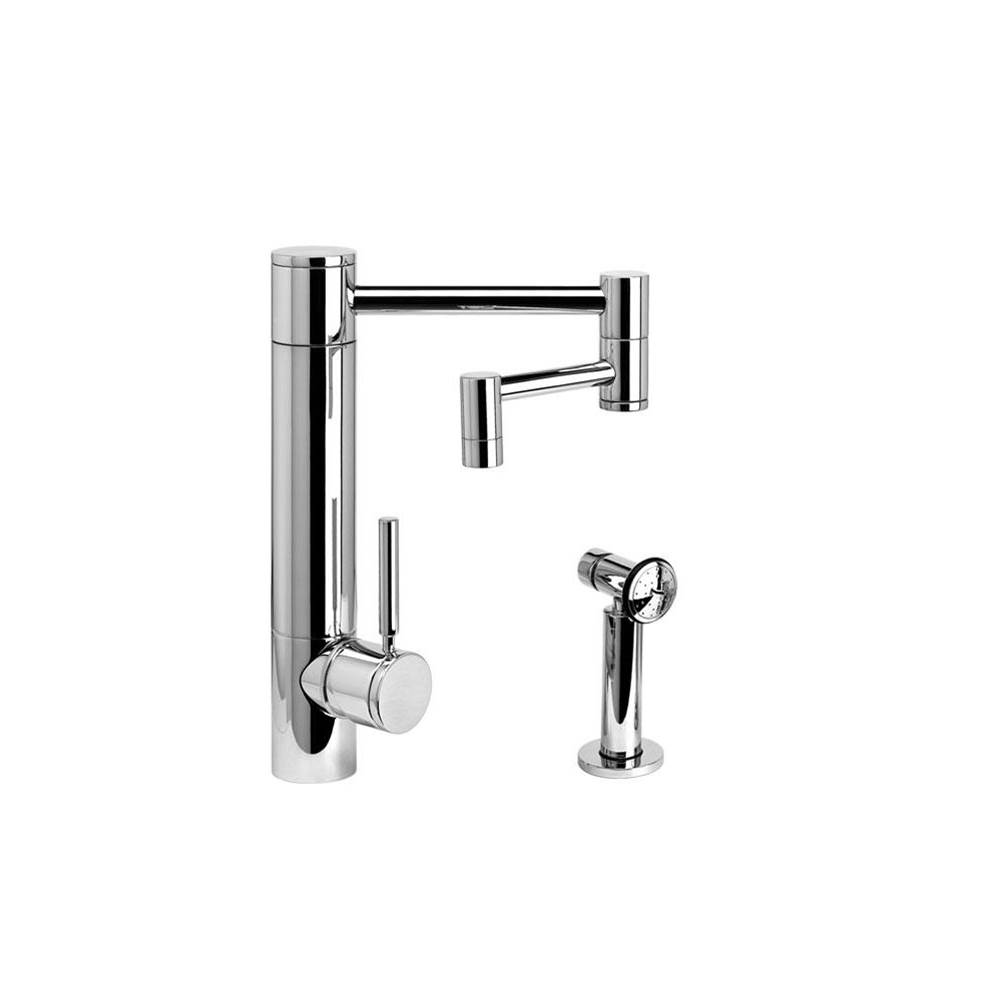 Waterstone Single Hole Kitchen Faucets item 3600-12-1-CHB