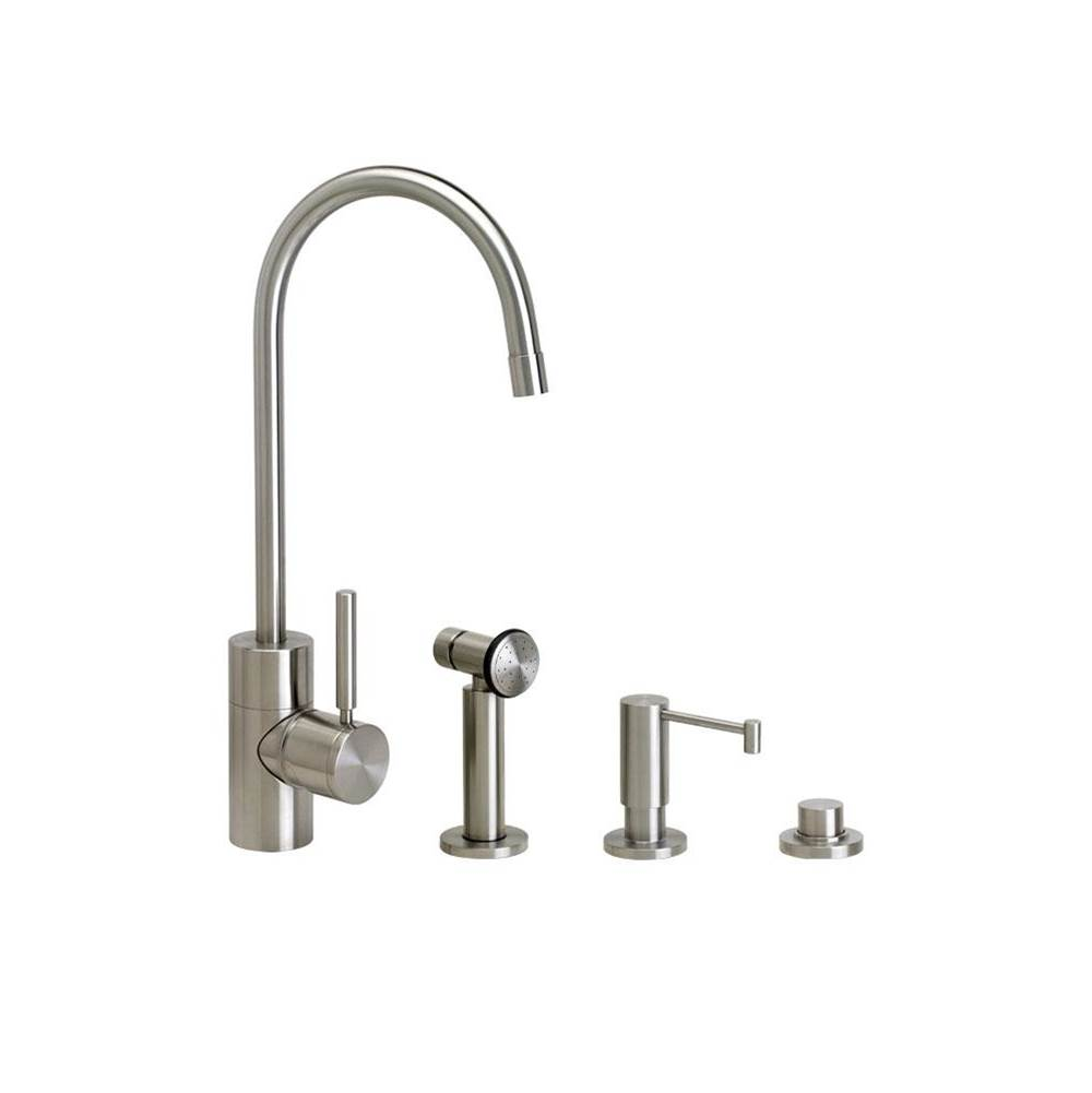 Waterstone Single Hole Kitchen Faucets item 3900-3-AC