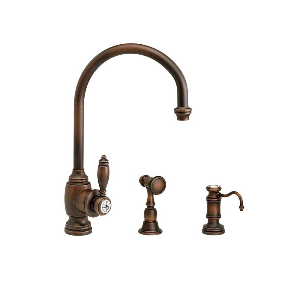 Waterstone Single Hole Kitchen Faucets item 4300-2-PC