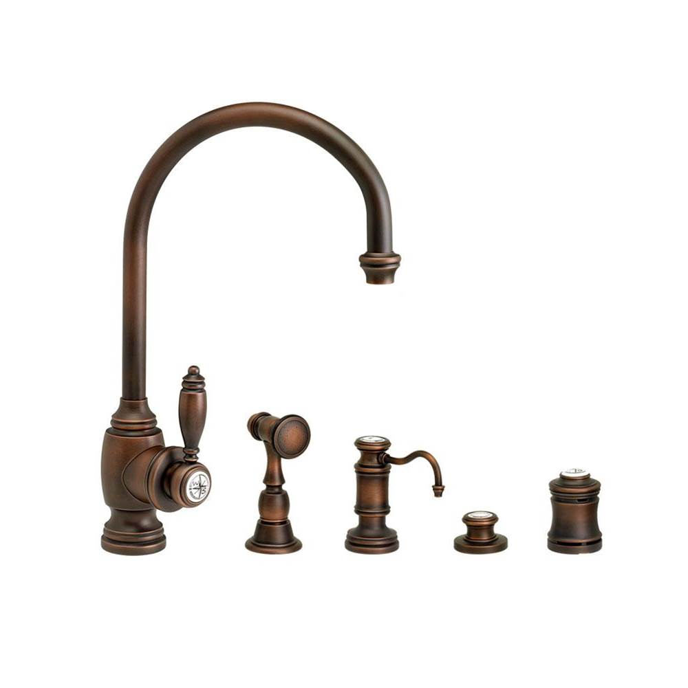 Waterstone Single Hole Kitchen Faucets item 4300-4-ORB