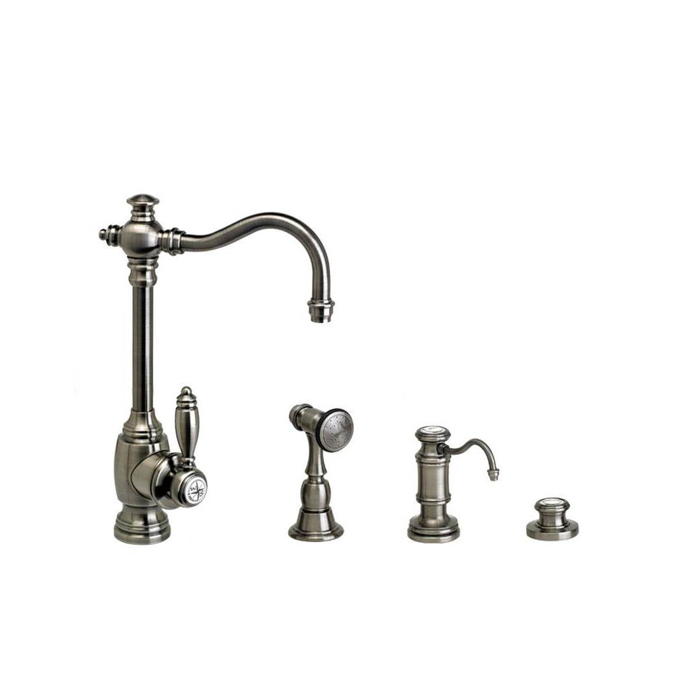 Waterstone Single Hole Kitchen Faucets item 4800-3-MB