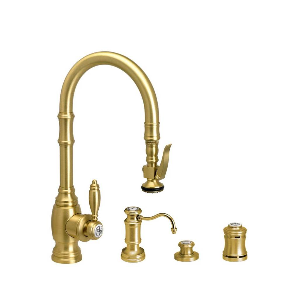 Waterstone Deck Mount Kitchen Faucets item 5200-4-CH