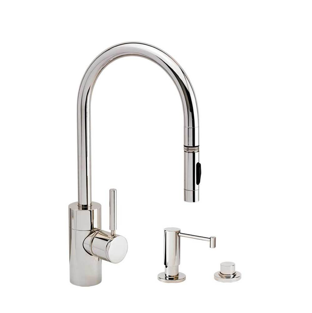 Waterstone Deck Mount Kitchen Faucets item 5400-3-PC