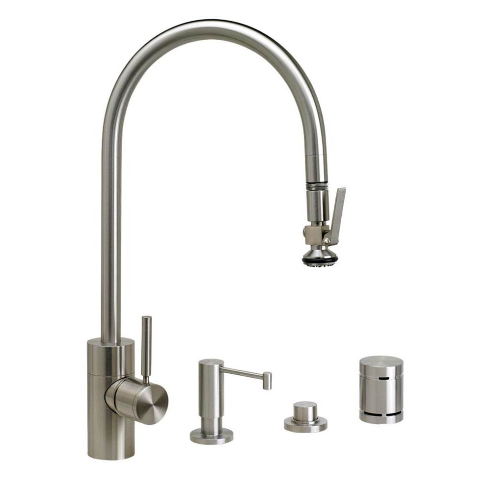 Waterstone Deck Mount Kitchen Faucets item 5700-4-DAMB