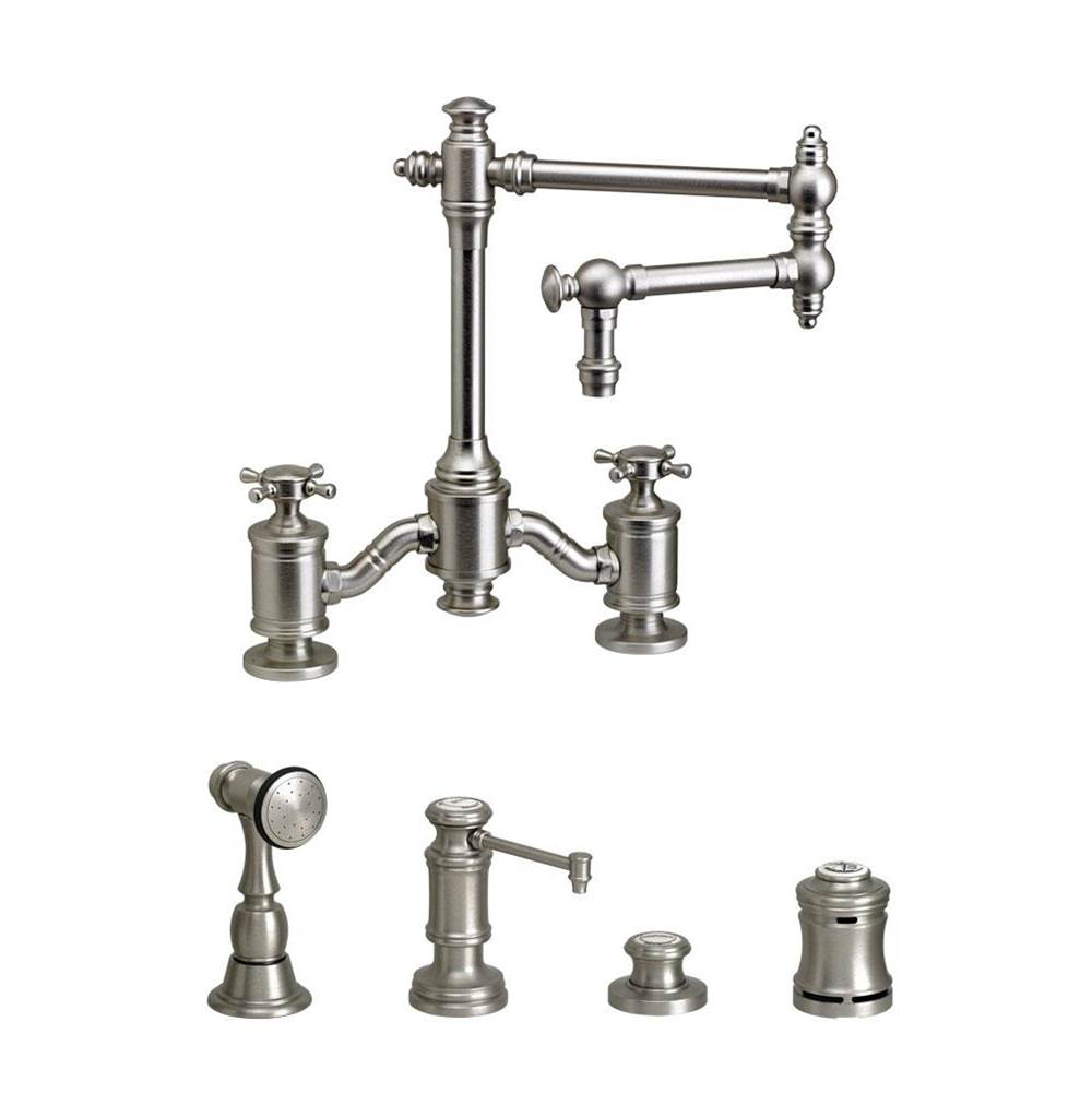Waterstone Bridge Kitchen Faucets item 6150-12-4-AP