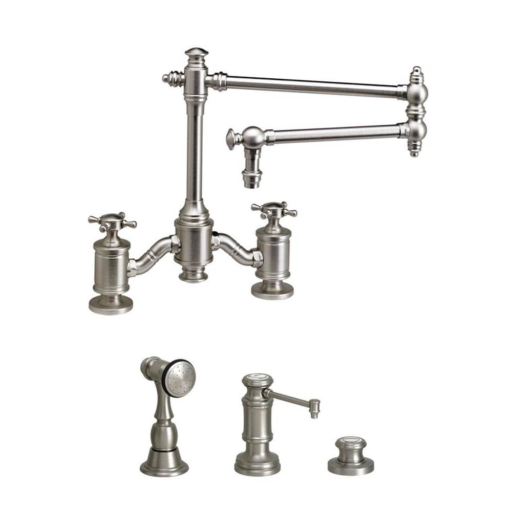 Waterstone Bridge Kitchen Faucets item 6150-18-3-ABZ