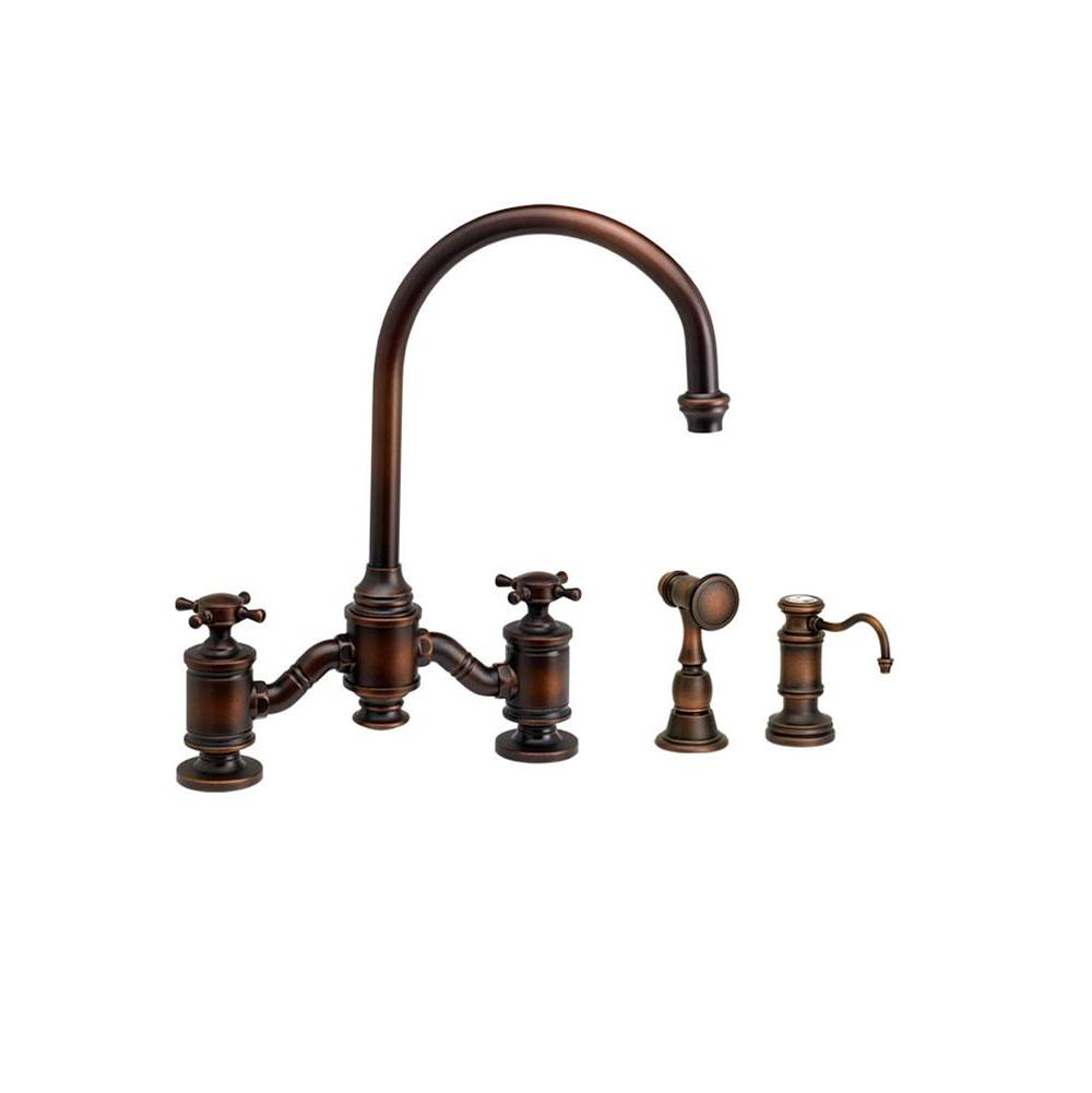 Waterstone Bridge Kitchen Faucets item 6350-2-AC