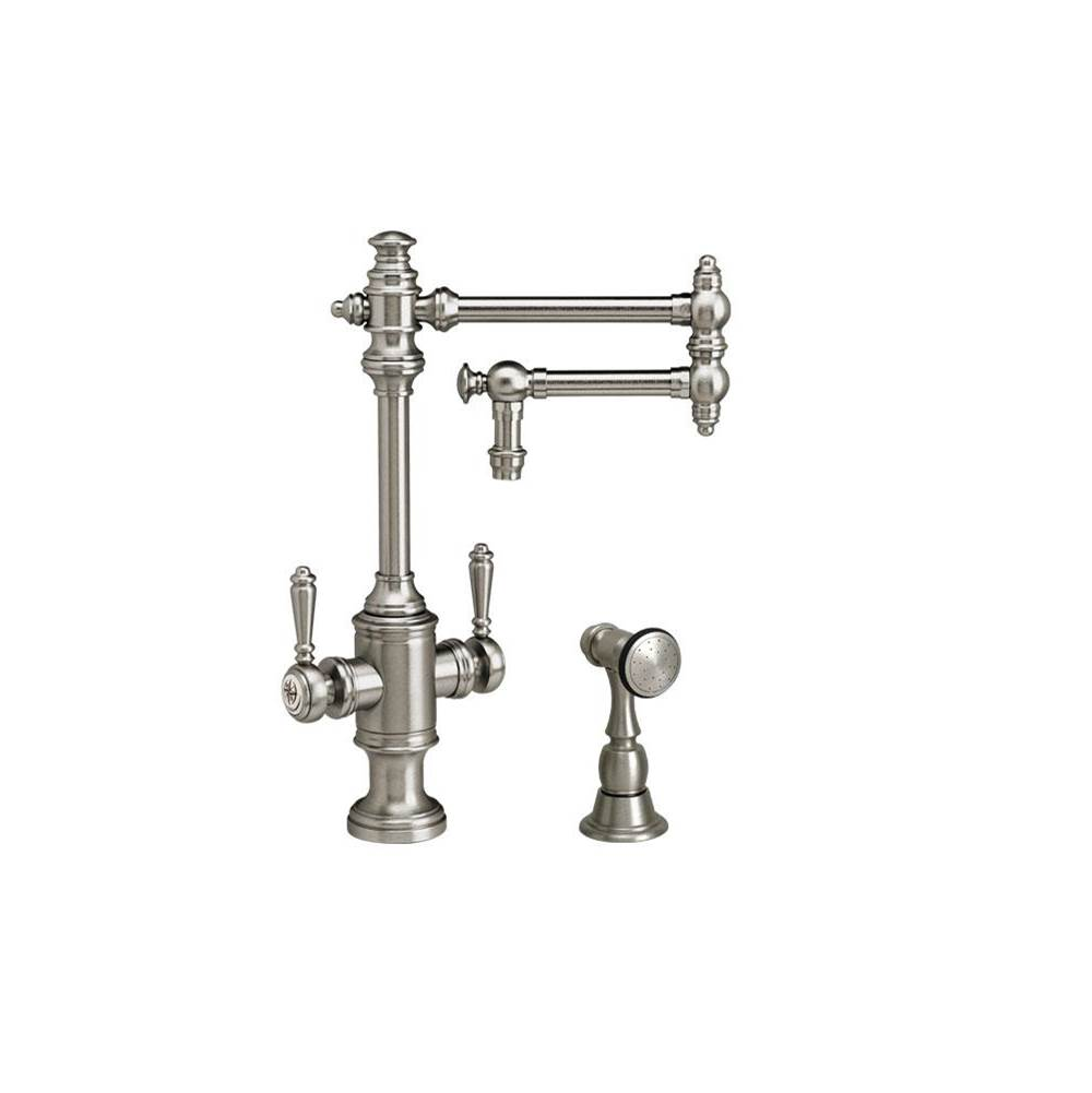 Waterstone Single Hole Kitchen Faucets item 8010-12-1-SG