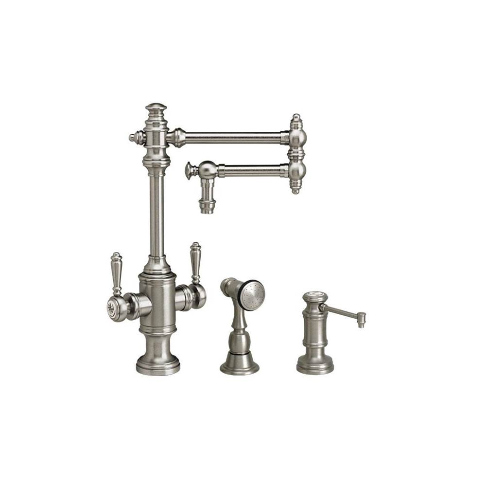 Waterstone Single Hole Kitchen Faucets item 8010-12-2-SB