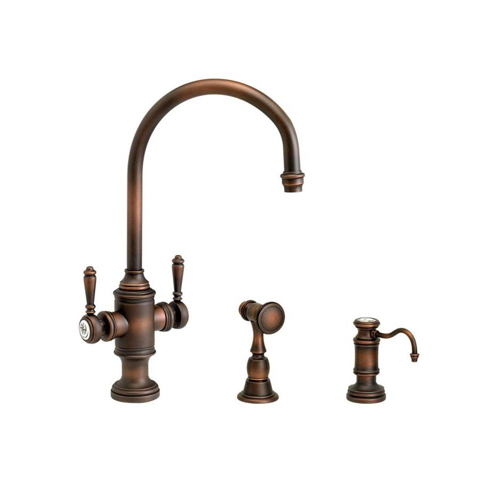 Waterstone Single Hole Kitchen Faucets item 8030-2-SG