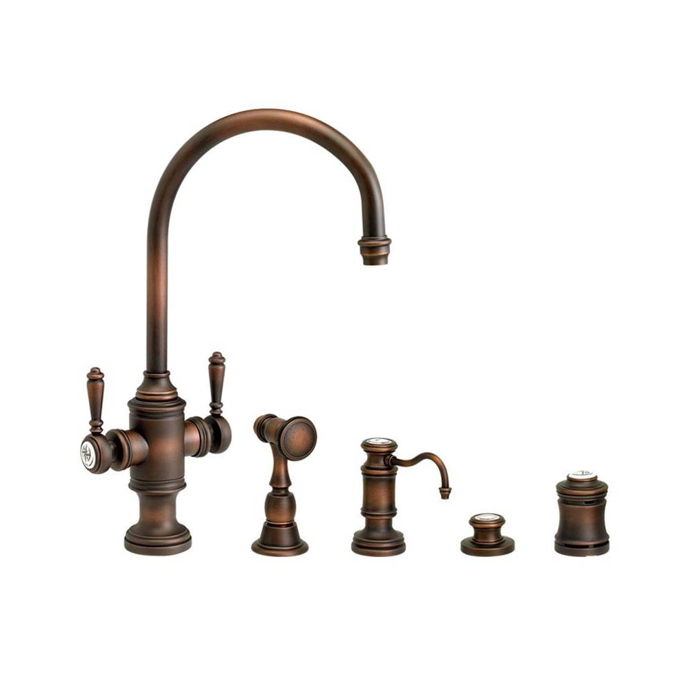 Waterstone Single Hole Kitchen Faucets item 8030-4-WC